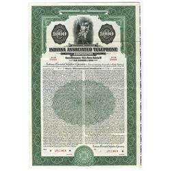 Indiana Associated Telephone Corp., 1935 Specimen Bond