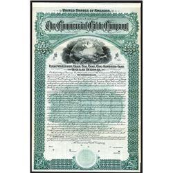 Commercial Cable Co., 1897 Specimen Bond.