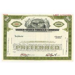 United States Tobacco Co., ca.1960-1970 Specimen Stock Certificate