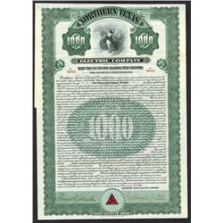 Northern Texas Electrical Co. 1910 Issued Bond.