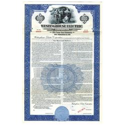 Westinghouse Electric Corp., 1951 Specimen Bond