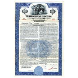 Westinghouse Electric Corp., 1951 Specimen Bond