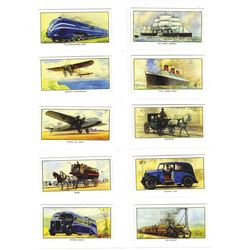 1938 Cigarette Card Set.