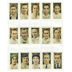 Ardath Cork Tobacco, 1935 Cigarette Card Set.