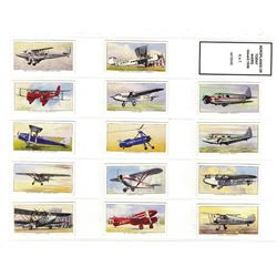 B.A.T. , 1936 Cigarette Card Set.