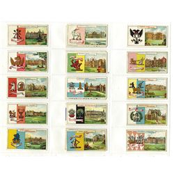 John Player & Sons, 1909 Cigarette Card Set.