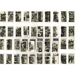 Lambert & Butler, 1927 Cigarette Card Set - Real Photo Cards.