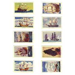 R. & J. Hill Ltd. Prop. of H. Y. Archer & Co. 1940 Cigarette Card Set.