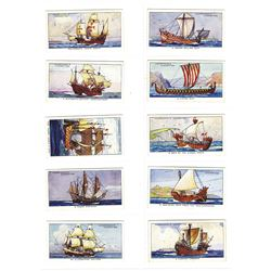 W.A. & A.C. Churchman 1937 Cigarette Card Set.