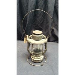 Deitz Vesta Wabash Ry Lantern Clear CNX globe marked made in USA and deitz  vesta