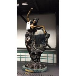 "Reflections Bronze By Moreau 21"" T"