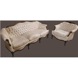 Suggs And Hardin French Sofa And Chair