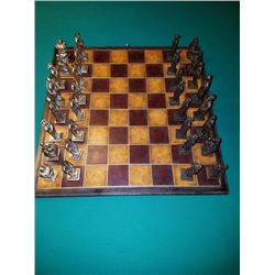 Bronze Chess Set Made By Anthony Maitland Smith