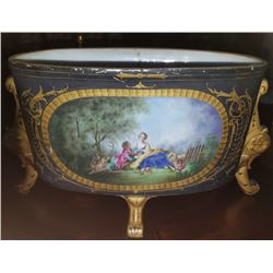 18th 19th Century Venetian Hand Painted Porcelain