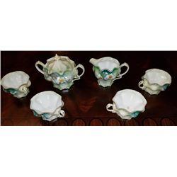 R S  Prussia Creamer-sugar-4 Cups