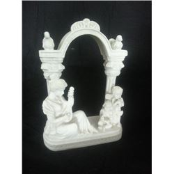 Marble Carving Small Arch This Is An Exquisitely Carved Marble Estate  Piece. It Is A Very Detailed