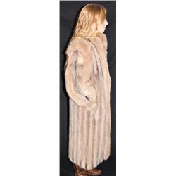 Oscar De La Renta Full Length Fur Coat