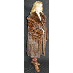 Genevieve Full Length Fur Coat