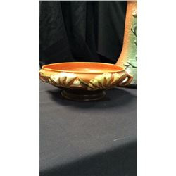 Roseville Handled Bowl 10 in two handle center bowl