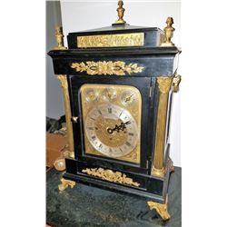 Shreve Crump & Low Clock W/nest Of Bells