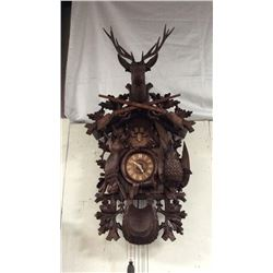 Black Forrest Lodge Clock