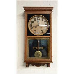 Country Store Regulator Sessions 8 Day Wall Clock