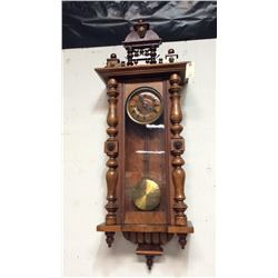 Large 8 Day Regulator German Clock