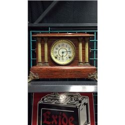 Seth Thomas Mantle Clock With Columns 8 Day Spring Driven