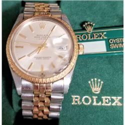 Rolex Watch Damaged Crystal
