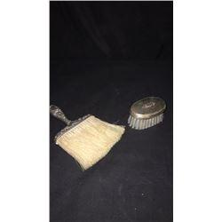 2 Sterling Silver Dresser Brushes
