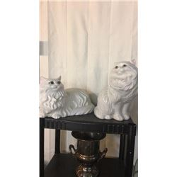 Pair Of Ceramic Cats