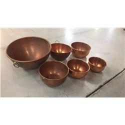 6 Cooper Bowls