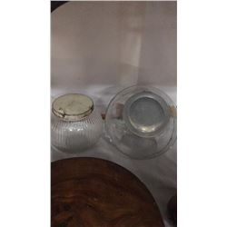 Two Vintage Cracker Jars