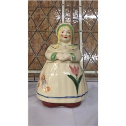 Dutch Woman Cookie Jar