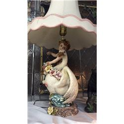 Fancy Porcelain Lamp