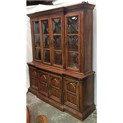 American Drew Bubble Glass Hutch 72""