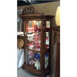Pulaski Lighted China Hutch 45''w x 91''t x 16''D