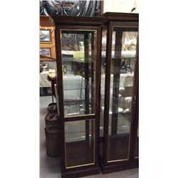 Lighted Single Door Curio Cabinet
