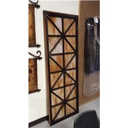 Door With Stained Glass Panels 79''t X 28''w