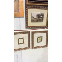 3 Framed Pictures