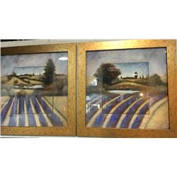 2 Framed Home Decor Pictures By Jensen