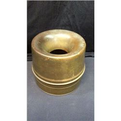 """Early Copper 2pc Spittoon 8""""T x 9""""D"""