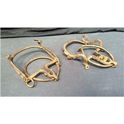 2-Antique Spanish Ring Bits
