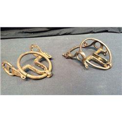 2- Antique Spanish Ring Bits