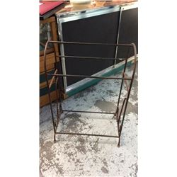 Decorative Iron Saddle Stand