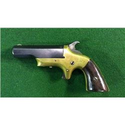 Derringer With Brass Frame Cal.41 Date 1890 Serial #877