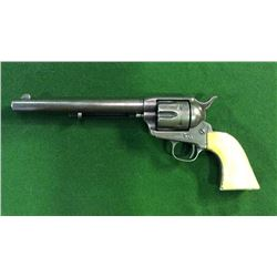 "Colt Single Action Army Revolver With 7 1/2 "" Barrel And Ivory Grips Cal.44-40 Date 1880 Serial #562"