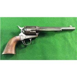 Colt Single Action Army Revolver Backstrap Inscribed Cheyenne Bill And At Top Of Backstrap Inscribed