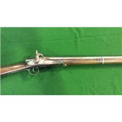 Very Unusual Large Caliber Percussion Long Gun w/Grooved Barrel