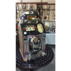 Jennings Indian 5 Cent Slot Machine